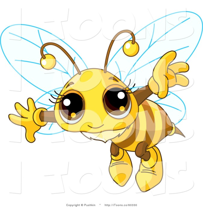 bee-20clipart-vector-clip-art-of-a-flying-adorable-bee-by-pushkin-60330
